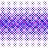 Purple and blue square pattern background design Royalty Free Stock Images