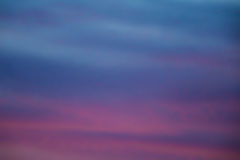 Purple and blue sunset background Stock Image