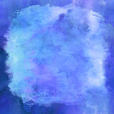 Purple Blue Violet Watercolor Paper Background Stock Photo