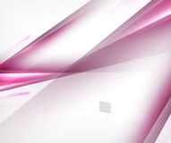 Purple blurred motion lines design Royalty Free Stock Photo