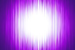Purple blurred stripes with a white spotlight Royalty Free Stock Image