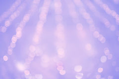 Purple blurry light Stock Images