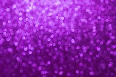 Purple bokeh abstract background, Festive background royalty free stock images