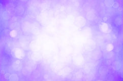 Purple bokeh abstract background. Stock Photos