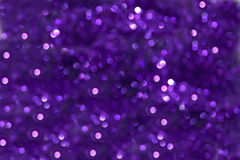 Purple Bokeh Effect Royalty Free Stock Image