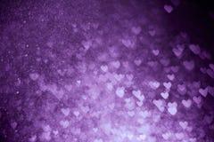 Purple bokeh Royalty Free Stock Photo