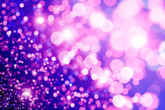 Purple bokeh Stock Photos