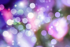 Purple bokeh royalty free stock image