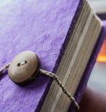 Purple book Royalty Free Stock Photos