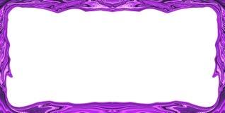 Purple border frame Royalty Free Stock Photo