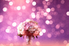 Purple bouquet Royalty Free Stock Photography