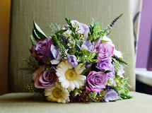 Purple Bouquet Royalty Free Stock Image