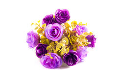 Purple Bouquet of Rose Stock Images