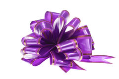 Purple bow Royalty Free Stock Photo