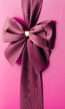 Purple bow Royalty Free Stock Images