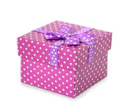 Purple box Royalty Free Stock Images
