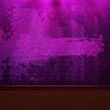 Purple brick wall Stock Images