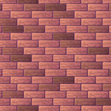Purple brick wall background Royalty Free Stock Image