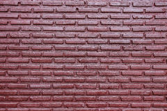 Purple brick wall background Royalty Free Stock Photography