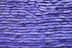 Purple brick wall detail royalty free stock photography