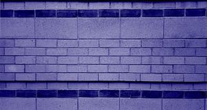 Purple Brick Wall Royalty Free Stock Images