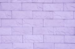Purple Brick Wall Texture. stock photos