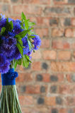 A purple bridal bouquet Royalty Free Stock Photos