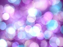Purple bright abstract background with white and violet soft glowing blurred lights stock photography