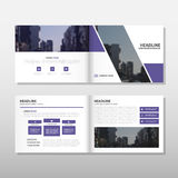 Purple Brochure Leaflet Flyer annual report template design, book cover layout design, abstract business presentation template. A4 size design vector vector illustration