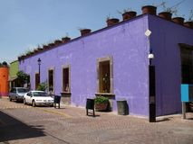 Purple Building-Guadalajara Royalty Free Stock Image