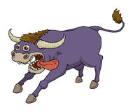 Purple Bull Royalty Free Stock Images