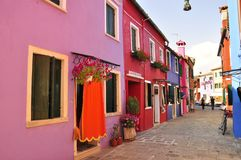 Purple Burano Stock Image