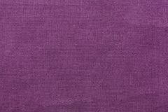 Purple burlap background and texture Royalty Free Stock Photo
