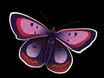 Purple Butterfly Stock Photos