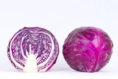 Purple cabbage Stock Photo