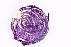 Purple cabbage Royalty Free Stock Photos
