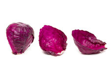Purple Cabbage Royalty Free Stock Photos