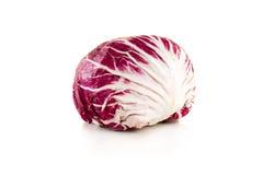 Purple cabbage isolated on white background Stock Photo