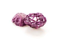 Purple cabbage Royalty Free Stock Photo
