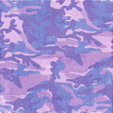 Purple Camouflage Stock Images