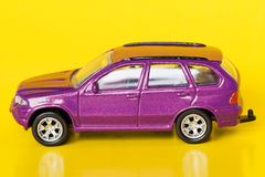 Purple  car Stock Photography