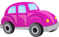 Purple car Stock Image