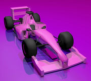 Purple car Royalty Free Stock Photos