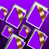 Purple Cards Royalty Free Stock Image
