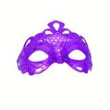 Purple carnival mask. Stock Image