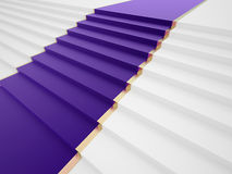 Purple carpet Stock Photos