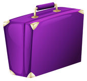 A purple case bag Stock Photo