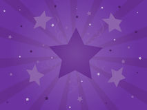 Purple Celebration Starburst Royalty Free Stock Photo