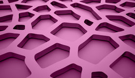 Purple cells background Royalty Free Stock Image