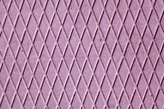 Purple cement floor with rhombus pattern. Stock Images